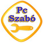 Pc Szabó laptop, pc szerviz Logo